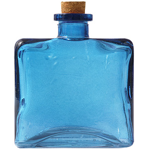 8.5 oz. Aqua Blue Matic Diffuser Bottle