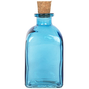 8.5 oz. Aqua Blue Roma Diffuser Bottle