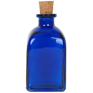 8.5 oz. Cobalt Blue Roma Diffuser Bottle