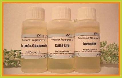 Citrus Vanilla Fragrance Oil