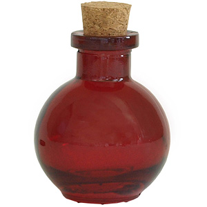 3.4 oz. Small Red Ball Diffuser Bottle