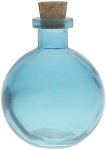8.8 oz. Aqua Blue Ball Diffuser Bottle