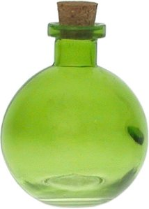 8.8 oz. Lime Green Ball Diffuser Bottle