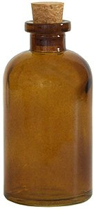 8 oz. Dark Amber Apothecary Diffuser Bottle