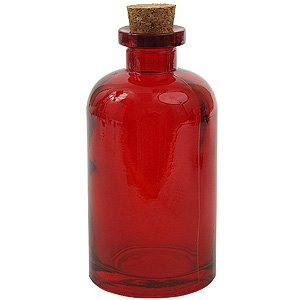 8 oz. Red Apothecary Diffuser Bottle