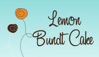 Lemon Bundt Cake Fragrance Oil