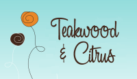 Teakwood and Citrus Fragrance Oil